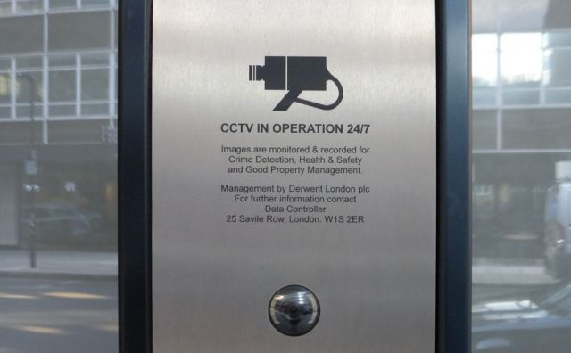 Derwent London CCTV.